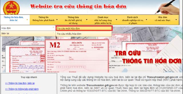 Hướng dẫn cách tra cứu hóa đơn điện tử hợp pháp của Tổng cục Thuế